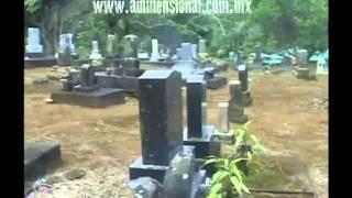 Extraterrestre grabado en Cementerio (Video Paranormal)