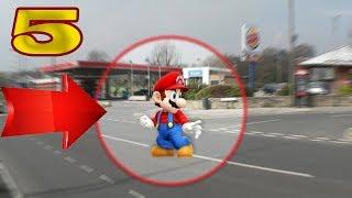 5 TIMES REAL MARIO SIGHTING CAUGHT ON CAMERA & SPOTTED IN REAL LIFE