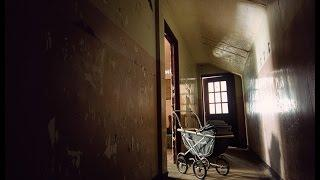 CRAZY ASYLUM FOUND OLD BABY CARRIAGE (ABANDONED)