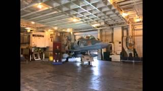 EVP Session USS Hornet Sick Bay Area