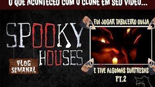 """Assunto Spooky Semanal - Youtuber """"Clone"""" e sua Tábua Ouija part.2"""