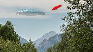 Crystal Clear Footage Of Alien Walking Inside UFO Footage Of 2017