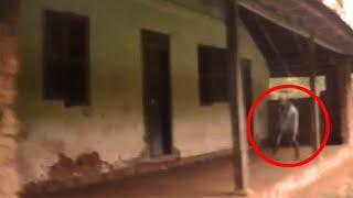 Paranormal Activity From A Haunted House Veranda!! Ghost Caught On Tape!!