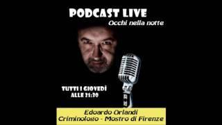 Occhi nella notte Podcast Mostro di Firenze con Edoardo Orlandi