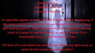 Ghostly Apparition Video -Halloween 2011 Residential Follow-up Basement Video #16