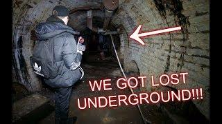 WE GOT LOST IN AN UNDERGROUND TUNNEL SYSTEM (HAUNTED?)