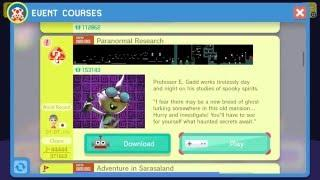 Super Mario Maker - Paranormal Research event course and costume
