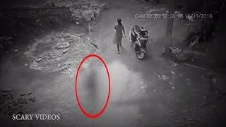 Real Ghost Videos Caught on Camera!   Haunting Videos 2017