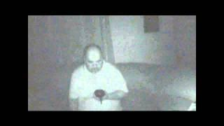 Private residence Spirit orb pass by.wmv