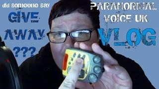 Paranormal Voice | SPECIAL NEWS | Vlog