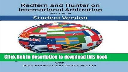 [PDF]  Redfern and Hunter on International Arbitration  [Download] Online