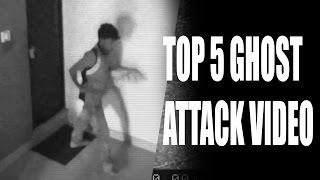 Top 5 Ghost Attack Video Caught On CCTV Camera | Scary Videos | Real Ghost Videos Caught On Camera