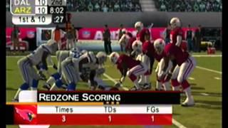nfl 2k5 season mode 2015 Dallas Cowboys vs Arizona Cardinals (full game)