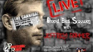 Paranormal Review Radio: Serial Killer Jeffrey Dahmer Ghost Box Caught LIVE
