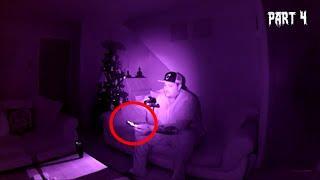 GHOST SLAMS MY DOOR - Real Paranormal Activity Part 4