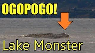 New Sightings Of Canada's Legendary Ogopogo Lake Monster Surfaces