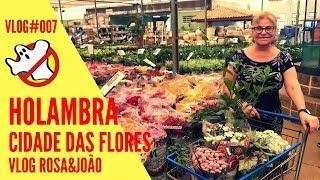 Holambra Vlog#007 Rosa&João - Caça Fantasmas Brasil