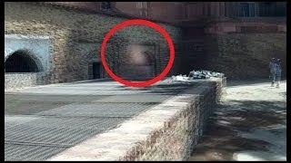 Ghot spirit caught spotted at abandoned old prison* SHOCKING Scary Videos