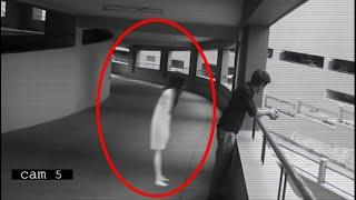 OMG!! Real Ghost Spotted Standing Behind A Boy Caught On CCTV Camera!!