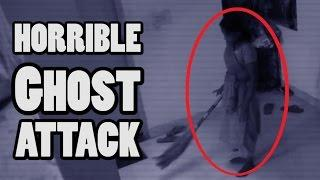 8 Ghost Attacking People Real Videos | Real Ghost Videos Caught On Tape | Scary Videos