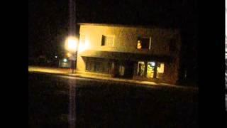 The PSB7 Spirit Box in Muncie Indiana at night