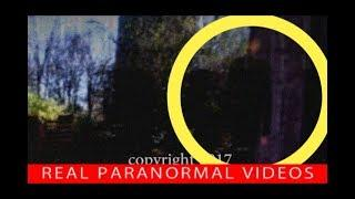 SLENDERMAN follows couple in woods caught on camera, Slender-man in real LIFE?