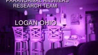 Paranormal Answers Research Team, Logan, Ohio, January 3, 2015