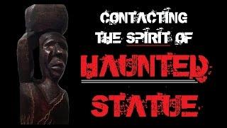 HAUNTED STATUE | GHOST BOX EXPERIMENT