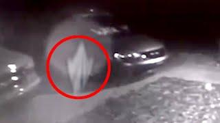 Most Chilling Creepy Ghost Sighting From A Car Parking Area!! Paranormal Activity Caught On Camera!!