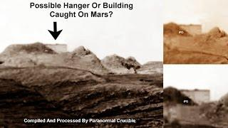 NASA BUSTED Hanger Or Building Caught On Mars?