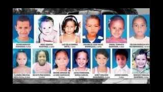 Homenaje a los 33 niños fallecidos en fundación madgalena