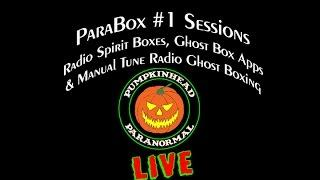 LIVE ParaBox #1 Sessions. Using my NEW Custom Ghost Box Radio & Ghost Box Apps. ITC Experiments LIVE