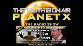 Don Philips Interview on  PLANET X