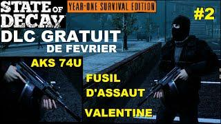 ☣ SOD YOSE DLC Gratuit de Février : Fusil d'assault AKS 74U Valentine (Chargeur tambour)