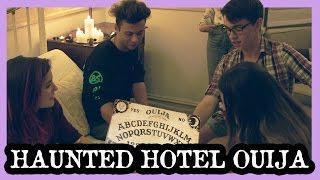 OUIJA BOARD IN HAUNTED HOTEL ROOM WITH KURT COLEMAN