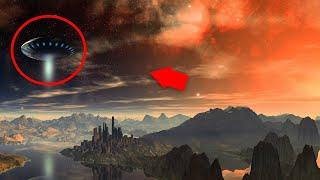 Strange Massive UFO Sighting!! Real UFO With Aliens Caught On Camera