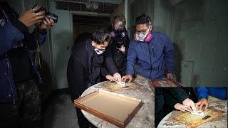 HAUNTED ABANDONED ASYLUM WITH  OUIJA BOARD ( SPENT THE NIGHT)