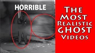 Top 4 Ghost Videos | Real Ghost Videos Caught On Tape | Scary Videos