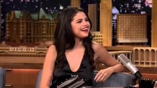 Selena Gomez ghost hunts on Tonight Show with Jimmy Fallon