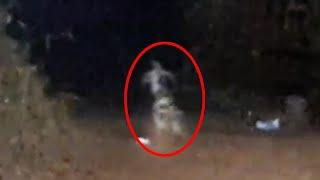 Unknown Ghost On Camera - Creepy Shadow Accidentally Caught