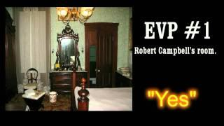 Bi State Paranormal at the Campbell House Museum, EVP evidence
