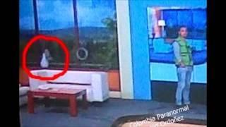 #AhoraTrasnocheParanormal | NENA FANTASMA EN ESTUDIO DE TV