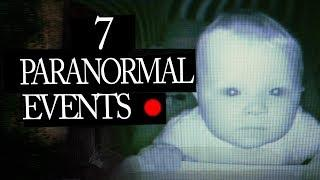 7 Paranormal Mysterious Events Caught on Tape