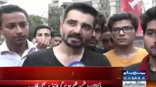 Hamza Ali Abbasi angry on (Saif Ali Khan And Pakistani Actress Mawra Hocane)