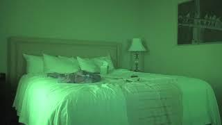 we left a video camera on in our haunted hotel room- HERE'S WHAT WE FOUND.