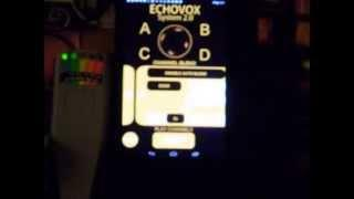 Echovox Bank A with K2: my room 12/11/14