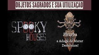 Objetos Sagrados - Phurba, a adaga de matar demônios!