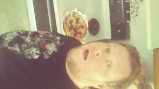 DIy Pizza Pan Aftermath!!!!