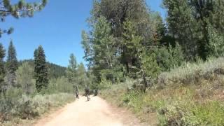 """Flume Trail Part 4 """"Breaking Near Wildcat Cabin"""""""