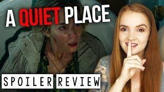 A Quiet Place (2018) FULL REVIEW with spoilers